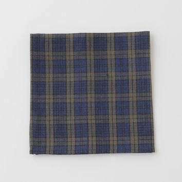 Fog Linen Work Napkin Scott Plaid