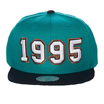 Mitchell And Ness Memphis Grizzlies Nba Snapback Cap Medium Green 0