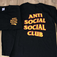 New Anti Social Social Club Long T-shirt