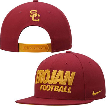 USC Trojans Nike True Adjustable Snapback Hat – Cardinal