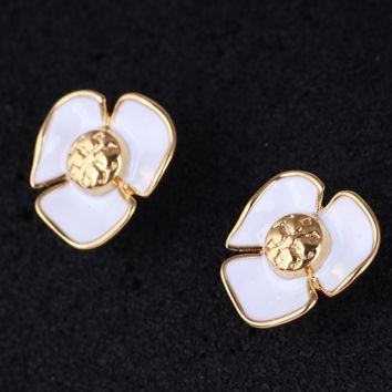 Tory Burch New fashion floral personality earring women