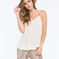 Roxy Sand Dune Womens Cami Cream  In Sizes