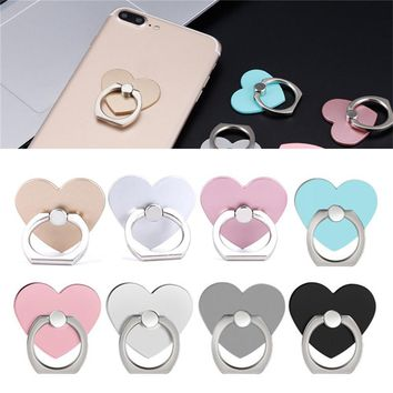 360 Heart Phone Holder Degree Holder For Phone Ring Handset Bracket For Desktop Tablet For Samsung Huawei Xiaomi LG