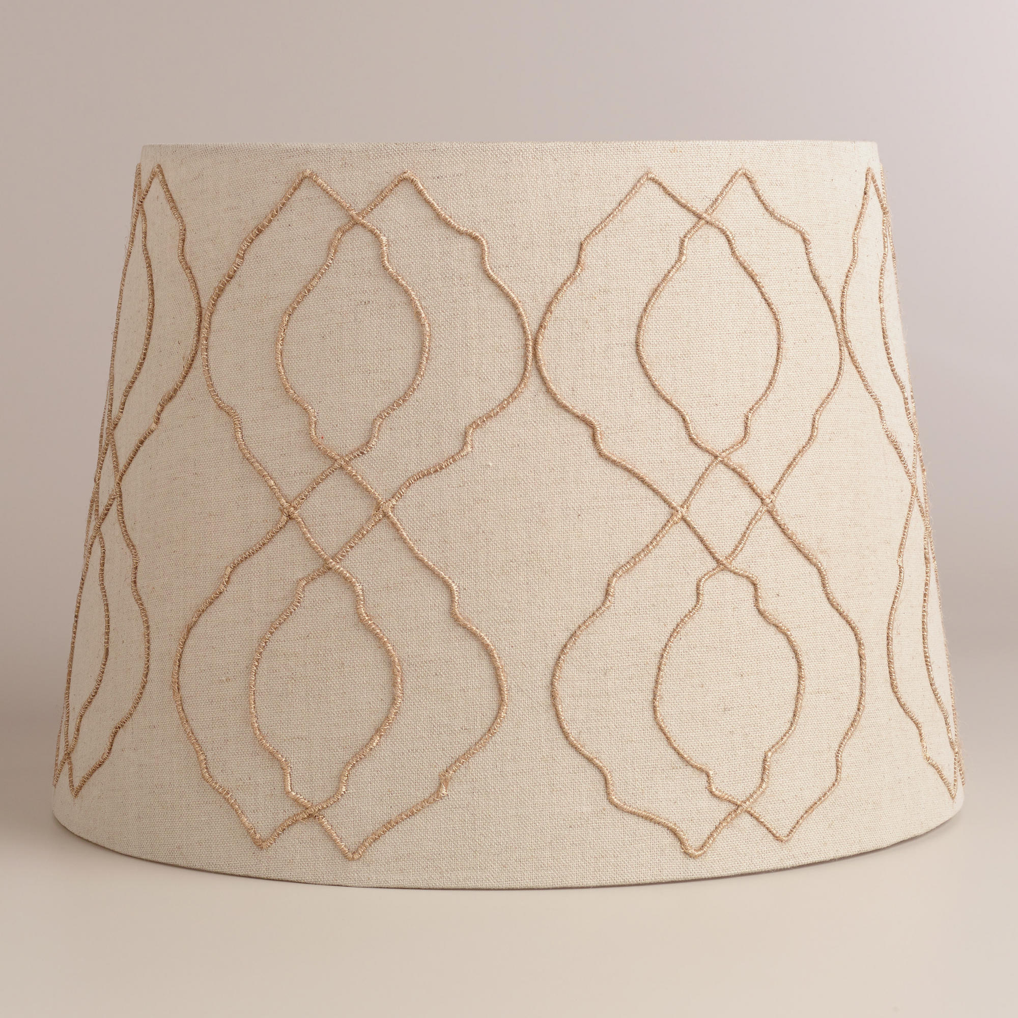 jute tile table lamp shade world market from cost plus world. Black Bedroom Furniture Sets. Home Design Ideas