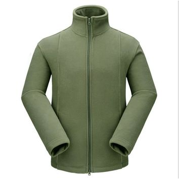 Outdoor Tactical Military Fleece Warm Coats Thickening Jacket For Men