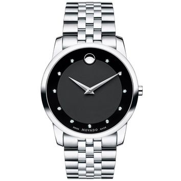 Men's Movado Museum Classic Black Dial Watch