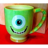 Disney Park Mike from Monsters Inc Ceramic Mug Cup NEW