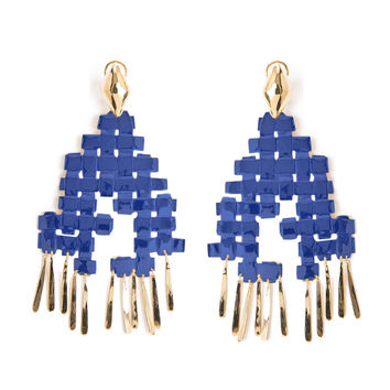 Aurelie Bidermann LHD x Aurelie Bidermann Marella Pin Earrings - ShopBAZAAR