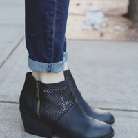 Let it Ride Booties - Black