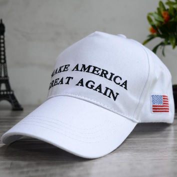 American Flag Make America Great Again Embroidered Baseball hat Hat + Nice Gift