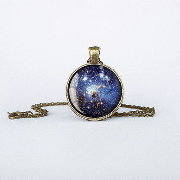 Handmade Milky Way Pendant Milky Way Galaxy necklace detail Jewelry Bronze Birthday Gift Glass Pendant Key Ring cb155