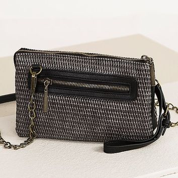 Sondra Roberts Textured Crossbody Purse