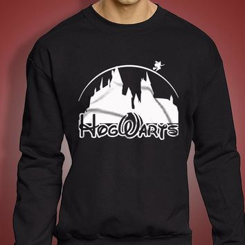 Harry Potter Hogwart Disney Castel Men'S Sweatshirt