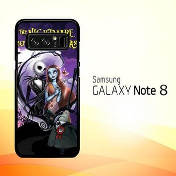 Jack And Sally Muertitos The Nightmare Before Christmas C0092 Samsung Galaxy Note 8 Case
