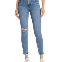 NobodyCult Ankle Skinny Jeans in Transpire