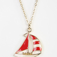 Urban Outfitters - Sailboat Necklace
