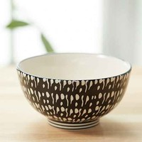 Sketch Pattern Snack Bowl