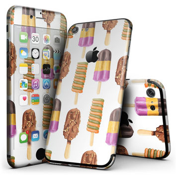 Yummy Galore Ice Cream Treats - 4-Piece Skin Kit for the iPhone 7 or 7 Plus