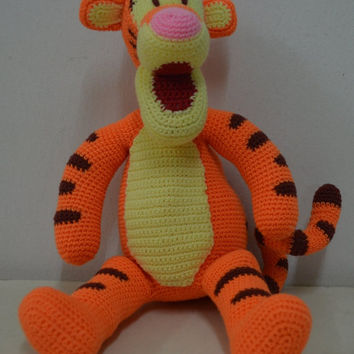 40% SALE Tigger Amigurumi Pattern: INSTANT DOWNLOAD