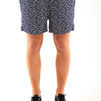 Native Youth Fallen Flower Print Swim Shorts