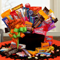 Happy Halloween Candy Cauldron Of Treats