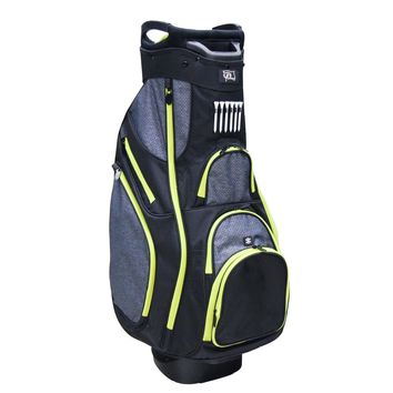 "RJ Sports Deluxe 9.5"" Golf Cart Bag - OX-820 Black/Black"
