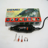 220V 130W Electric (DEMEI brand not original Dremel) Rotary Tool 5 Speed Mini Drill with 5 Accessories Power Tools EU US plug