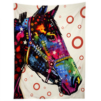 Dean Russo Horse Tapestry