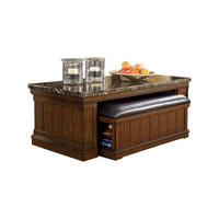 Darby Home Co Hodgkinson Coffee Table with Ottoman & Reviews | Wayfair