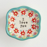 Natural Life I Love You Mini Trinket Dish