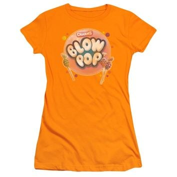 Tootsie Roll - Blow Pop Bubble Short Sleeve Junior Sheer