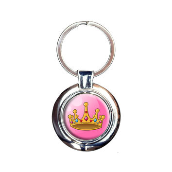 Pretty Princess Crown Keychain