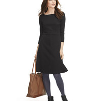Women's Signature Ponte Dress, Three-Quarter Sleeve at L.L.Bean
