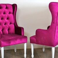 www.roomservicestore.com - St. Tropez Chair in Velvet