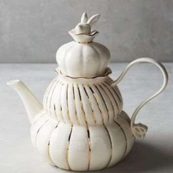 Philomena Teapot by Anthropologie in White Size: Teapot Serveware
