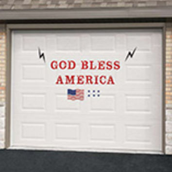 Patriotic Garage Door Magnet Set
