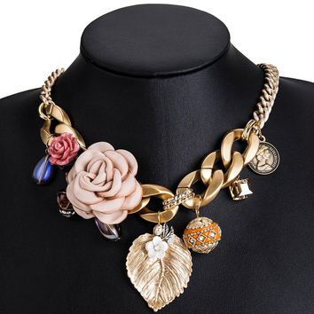 MIREYA - Spring Charm Necklace