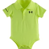 Under Armour Baby-Boys Newborn Fashion Polo Bodysuit