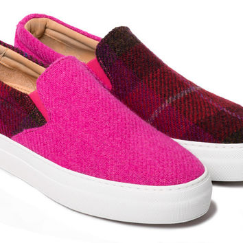 The Wooster Lardini - Pink Wool
