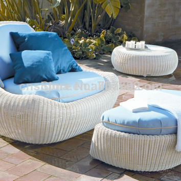 2017 Hot Sale Outdoor Rattan Modern Garden Sofa Set 3pcs