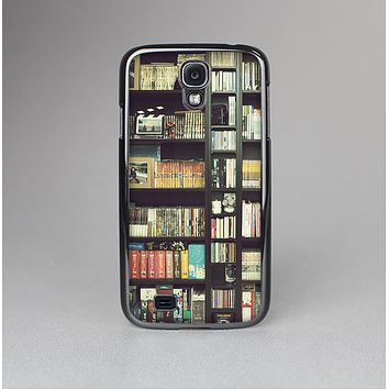 The Vintage Bookcase V2 Skin-Sert Case for the Samsung Galaxy S4