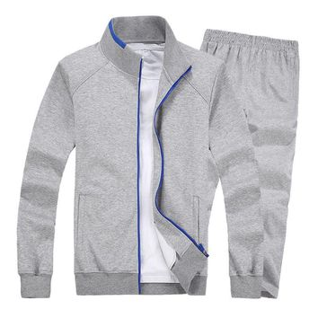 Plus Size Men Sets 5XL 6XL 7XL 8XL Sportswear Gym Clothing Spring Autumn Keep Warm Sport Jogging Running Suits Women New Suits