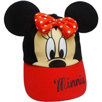 Disney's Minnie Mouse 3D Ears Baseball Hat - Girls, Size: 3-6