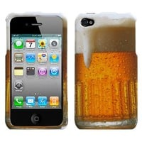 Beer Case - Protector for Apple iPhone 4 / 4S [AT&T, Verizon Wireless, Sprint]
