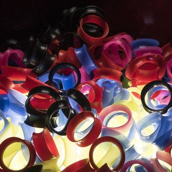 Silicone Ear Skins - Select Sizes & Colors - CLEARANCE