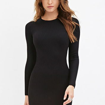 Ribbed Knit Bodycon Dress - Dresses - 2000156922 - Forever 21 EU English
