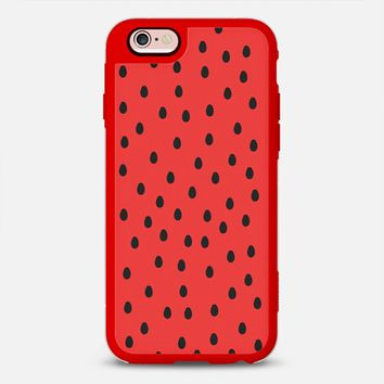 WATERMELON SEEDS PATTERN iPhone 6s case by austeja platukyte | Casetify