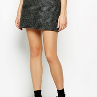 HAMMERLING CHECKED MINI SKIRT