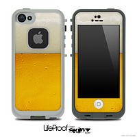 Cold Beer Skin for the iPhone 5 or 4/4s LifeProof Case