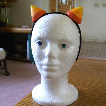 HOMESTUCK troll nepeta/meulin leijon cosplay horns (with or w/o headband) +